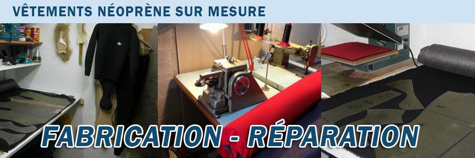 Fabrication et réparation de vétements
